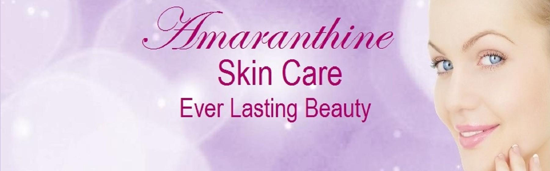 Amaranthine Skin Care banner