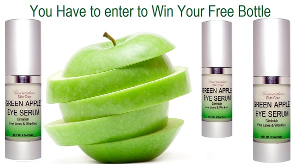 green apple eye serum giveaway